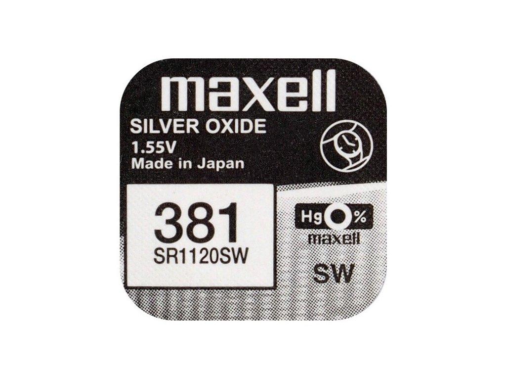 759 baterie maxell 381 391 sr1120sw 1ks