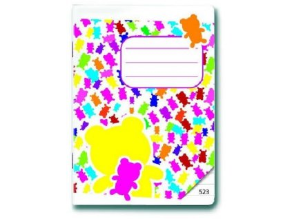 1296 sesit a5 523 gummy bears 20 listu linkovany