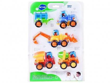 2244 toys24 sada stavebnich auticek