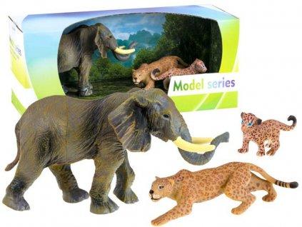 2256 toys24 sada zvirat safari