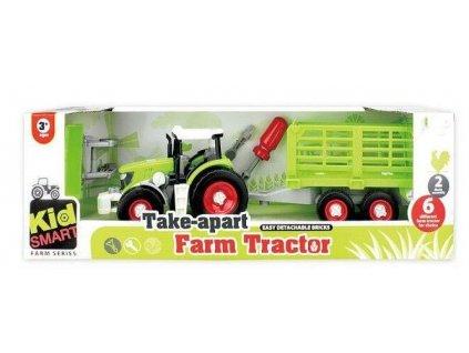 2655 toyz24 traktor s valnikem