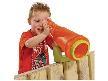 3957 teleskop dalekohled star na detske hriste oranzova
