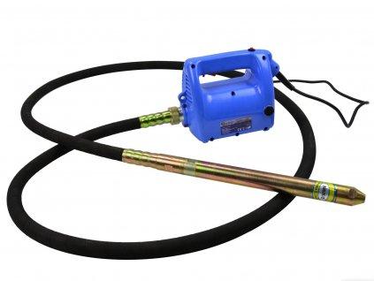4044 ponorny vibrator do betonu 2300w 38mm 4m geko g80230