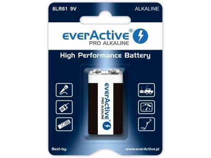 4608 baterie everactive 6lr61 9v r9 pro 1ks blister
