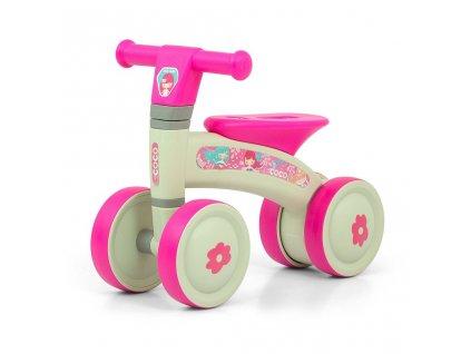 5859 detske odrazedlo milly mally coco pink