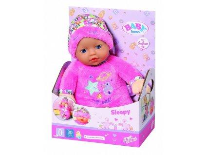 5919 zapf creation baby born sleepy s cepickou 30 cm