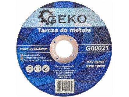 6150 rezny kotouc na ocel 125x1 2mm geko naradi g00021