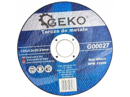 6156 rezny kotouc na ocel 125x1 0mm geko naradi g00027