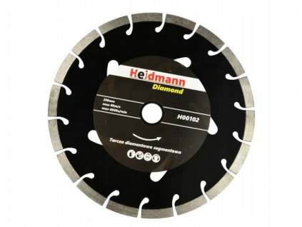 6213 heidmann cerny kotouc rezny diamantovy pro rezani betonu 230x22 2x10mm h00102