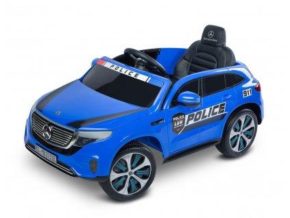 6324 detske luxusni auticko na akumulator mercedes benz ecq policie blue