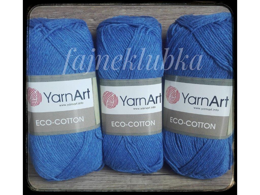 Eco Cotton 774 Tmavě modrá