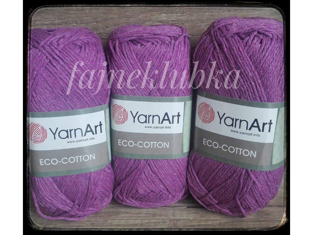 Eco Cotton 772 Fialová