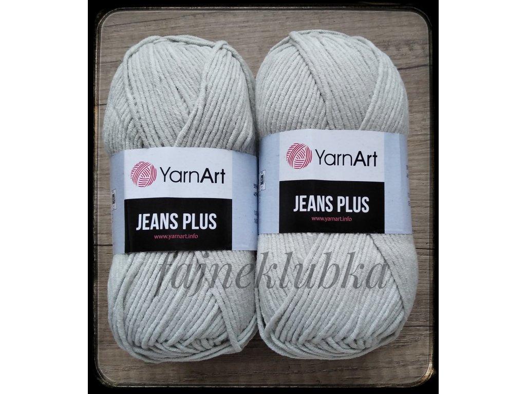 Jeans plus / Gina plus 49 Světle šedá