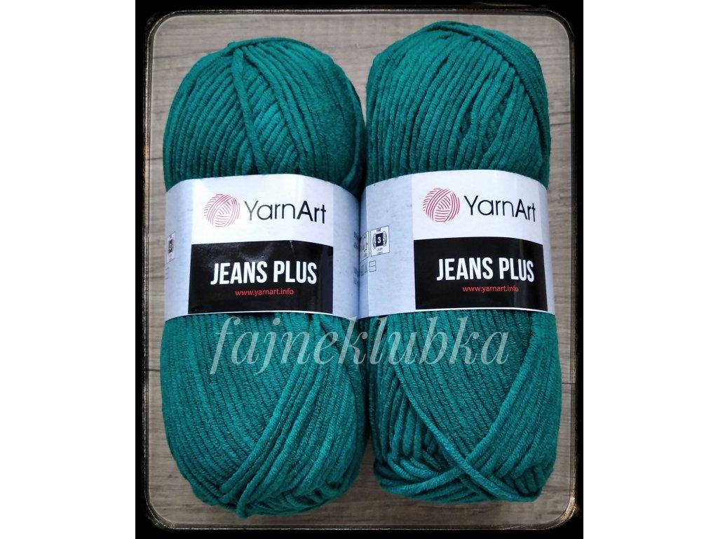 Jeans plus / Gina plus 63 Petrolejová