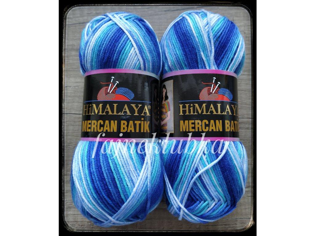 Mercan Batik 59513 Modrý melír