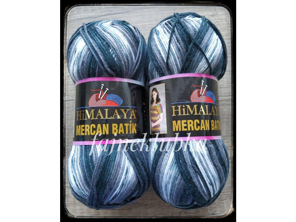 Mercan Batik 59512 Černošedý melír