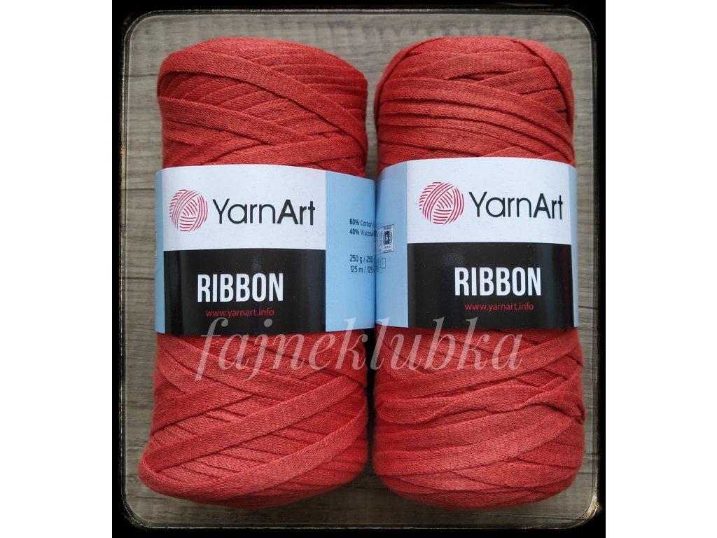 Ribbon 785 Červená