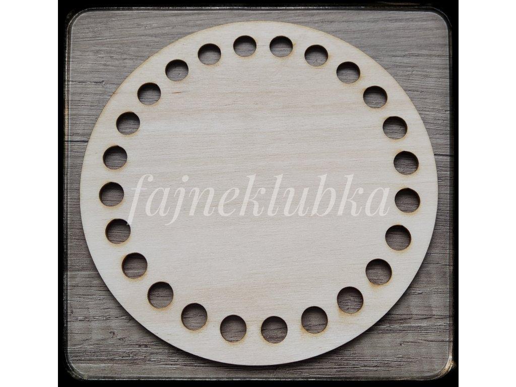 Dřevěné dno kruh 15 cm