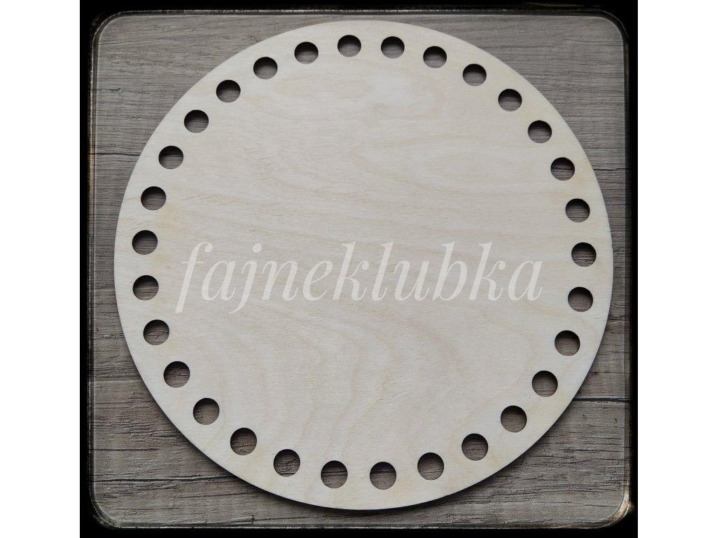 Dřevěné dno kruh 20 cm