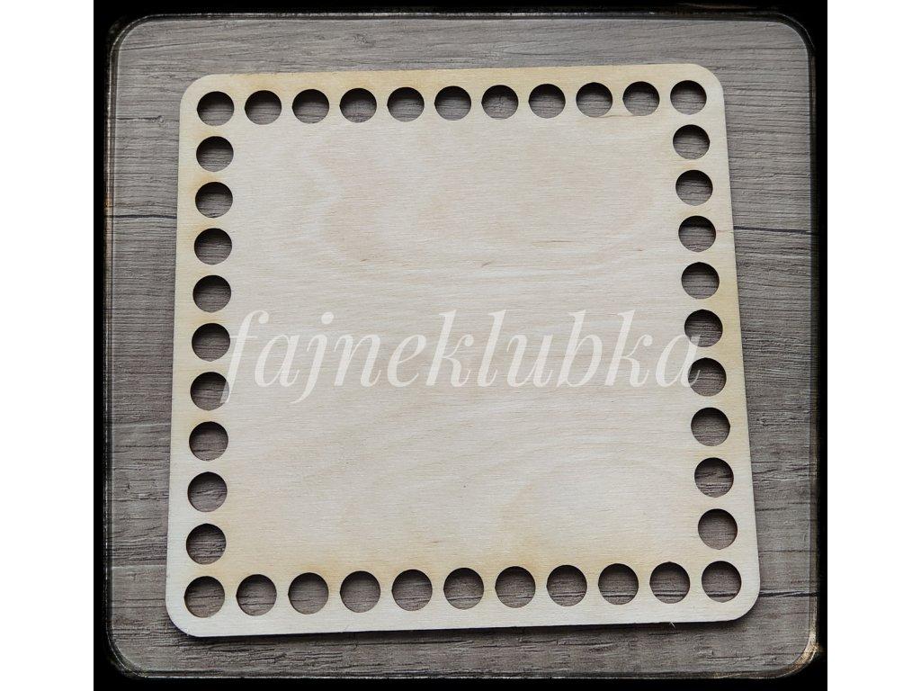 Dřevěné dno čtverec 15 cm