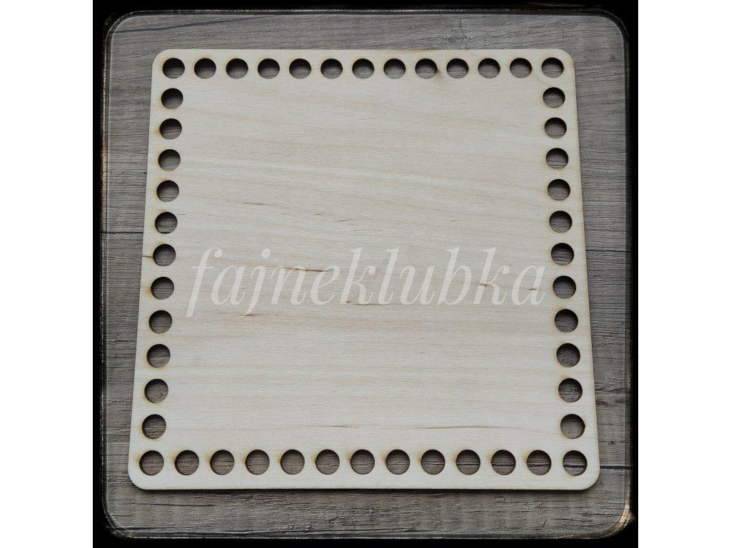 Dřevěné dno čtverec 20 cm