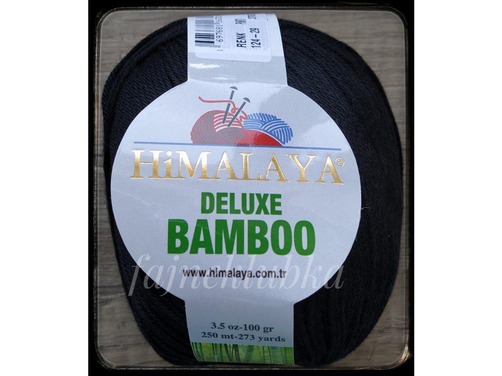 Deluxe Bamboo 124-29 Černá