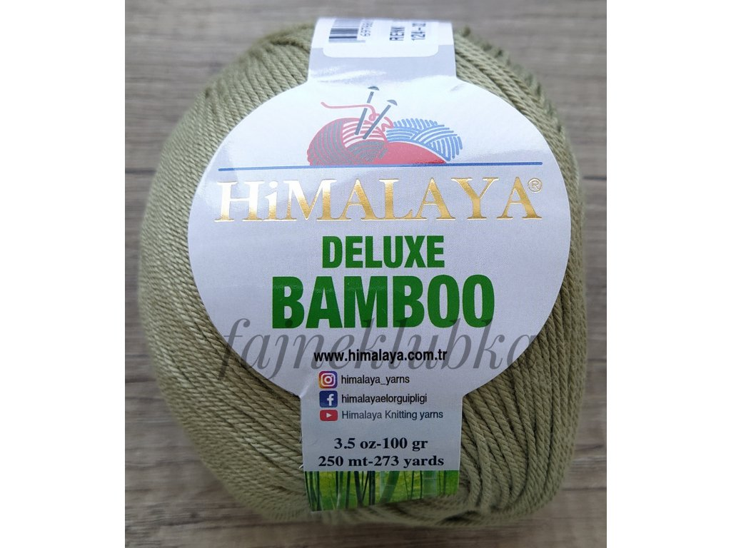 Deluxe Bamboo 124-32 Olivová