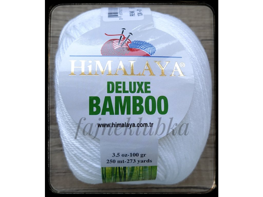 Deluxe Bamboo 01 Bílá