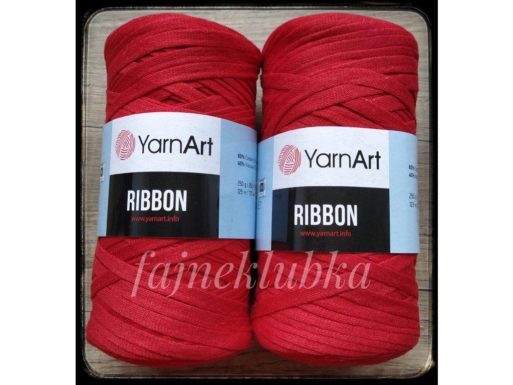 Ribbon 773 Červená