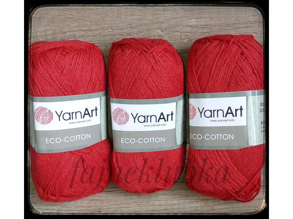 Eco Cotton 769 Červená