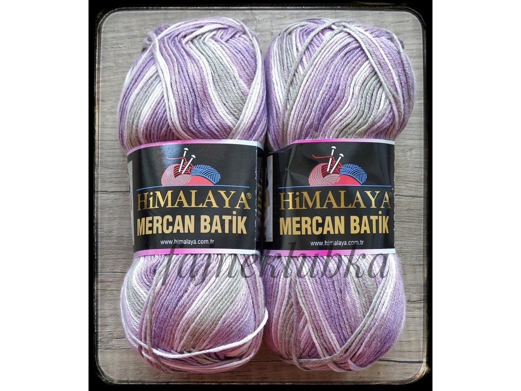 Mercan Batik 59534 Fialovošedý melír