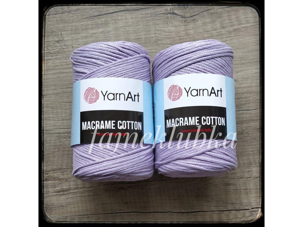 Macrame Cotton 765 Světle fialová