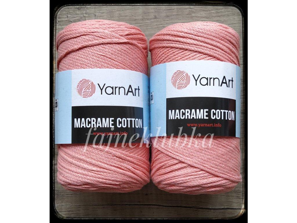 Macrame Cotton 767 Lososová