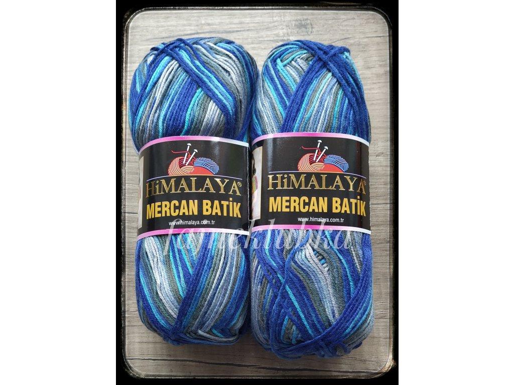 Mercan Batik 59517 Modrošedý melír