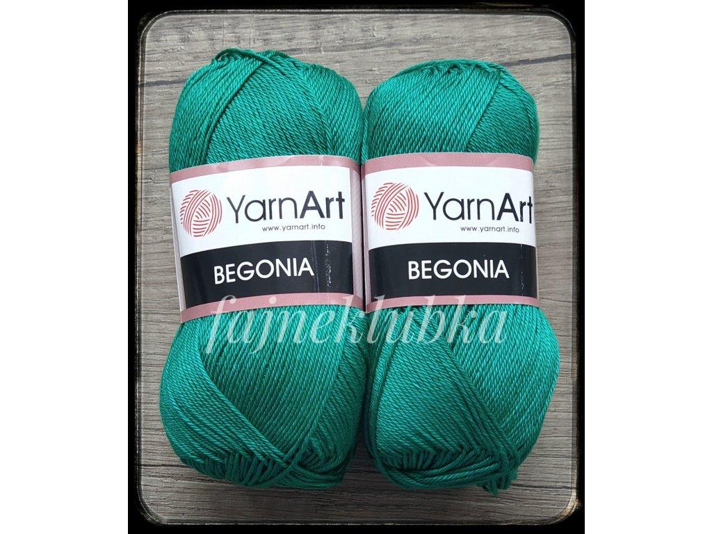Begonia 6334 Tmavě zelená