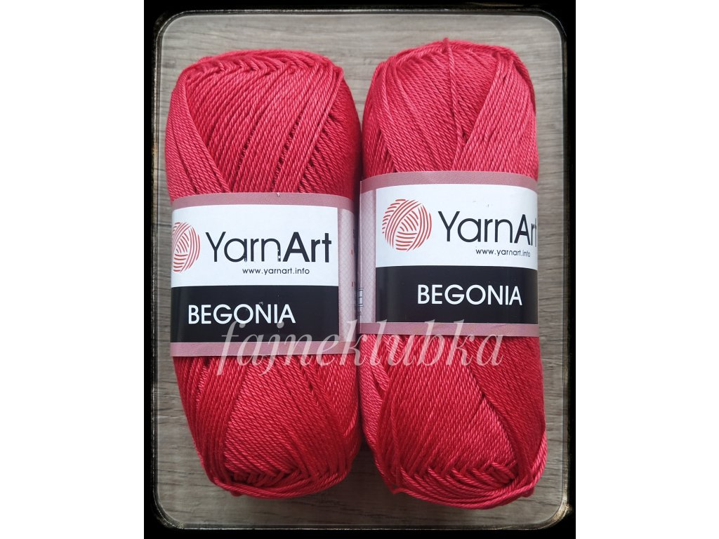 Begonia 6328 Červená