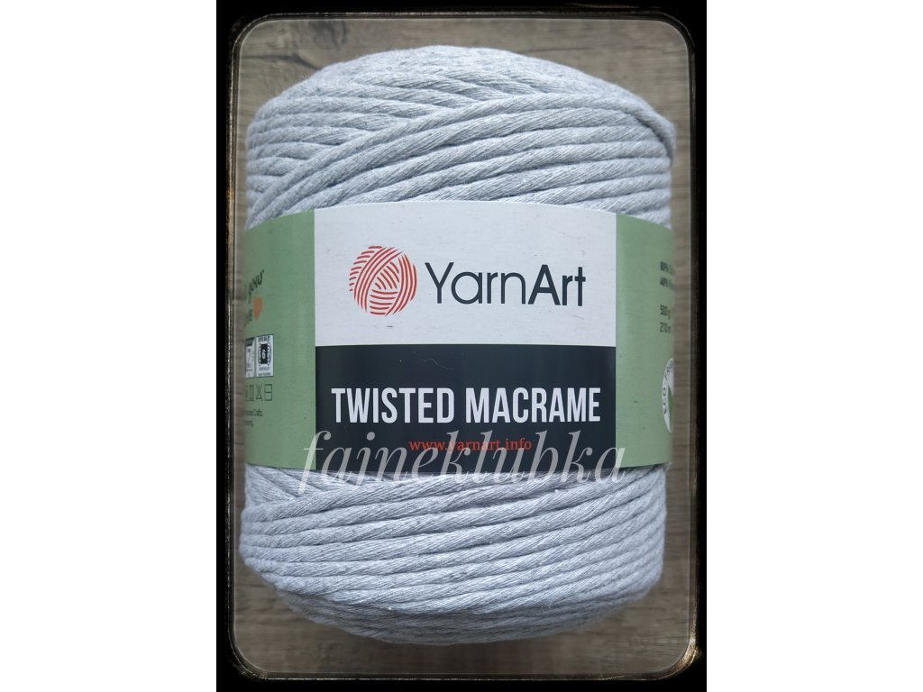 Twisted Macrame 756 Šedá