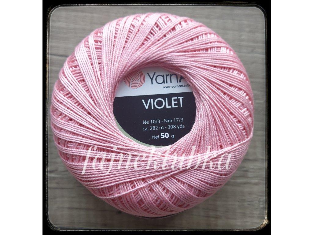 Violet 6313 Růžová