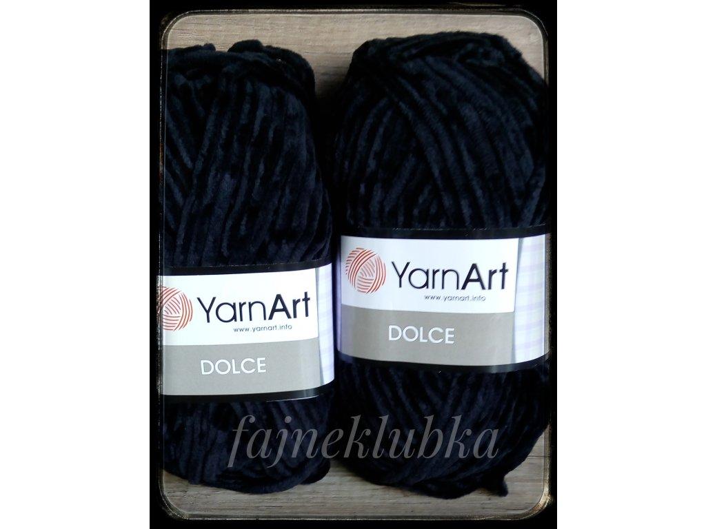 Dolce 742 Černá YarnArt