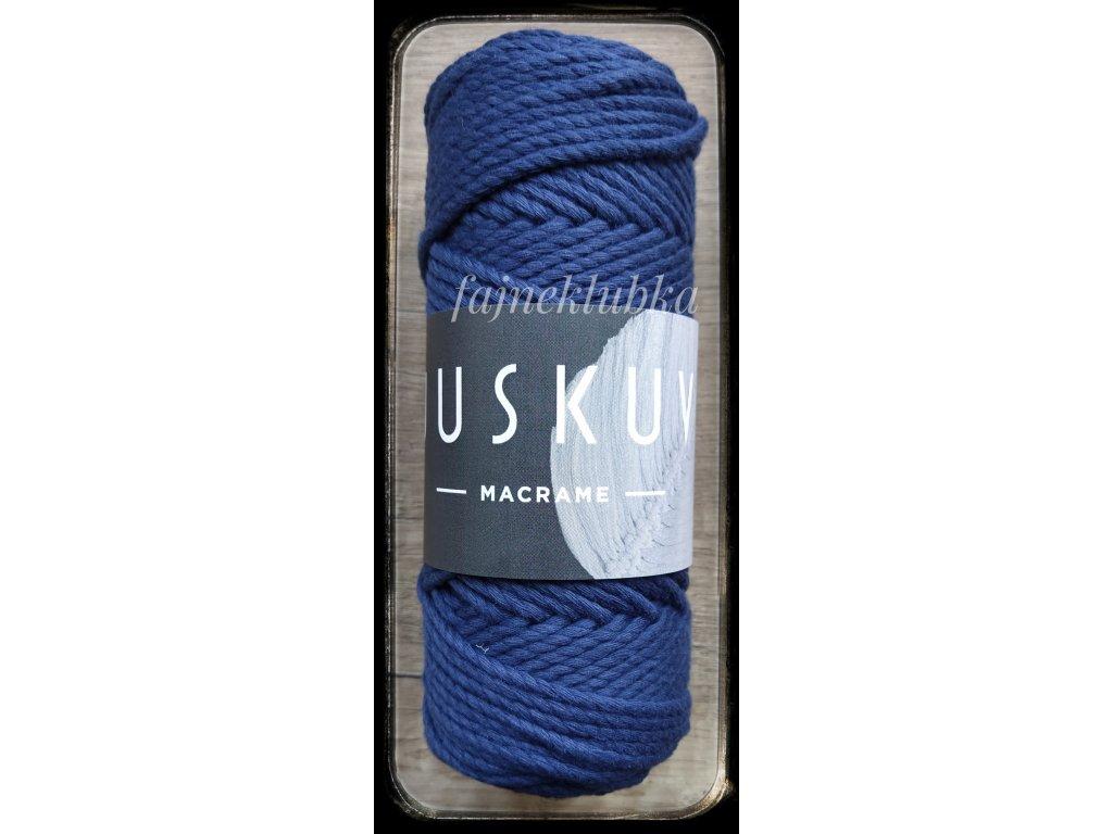 Juskuv Macrame - MACR 5 Tmavě modrá