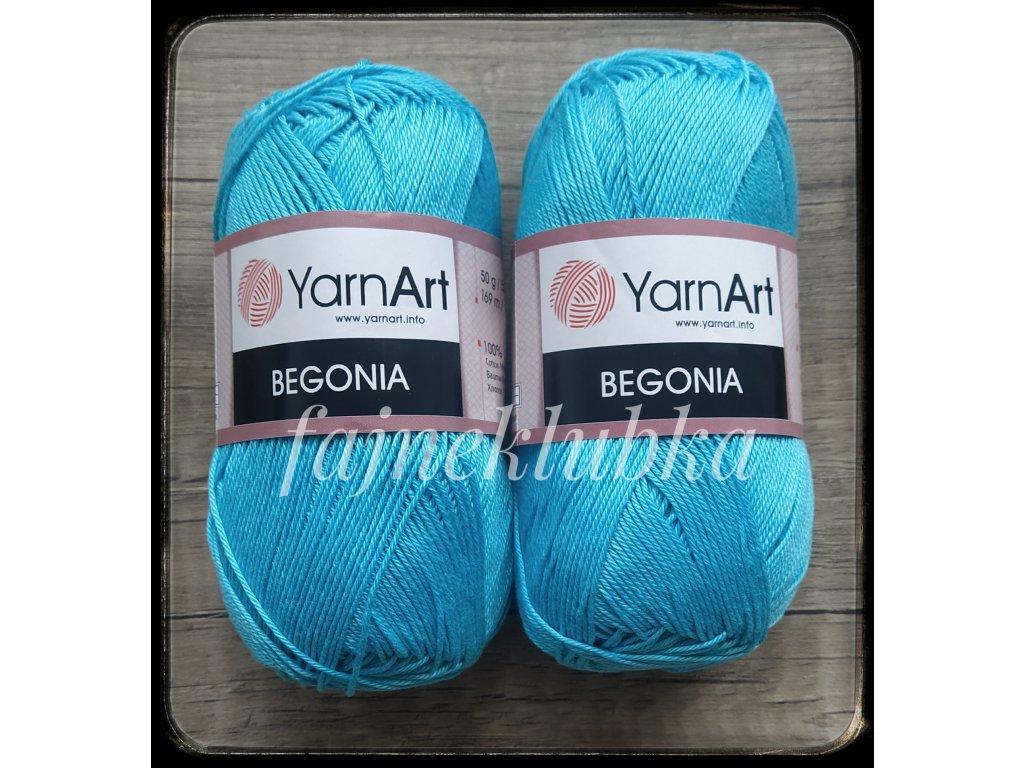 Begonia 08 Tyrkysově modrá