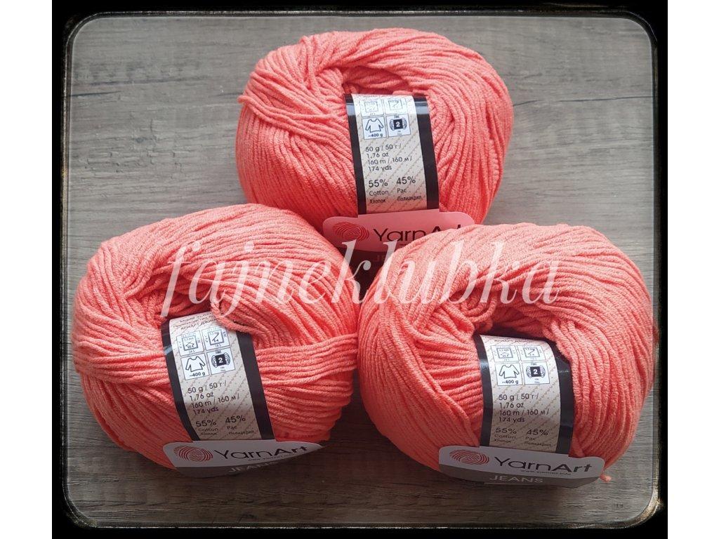 Jeans 61 Oranžová