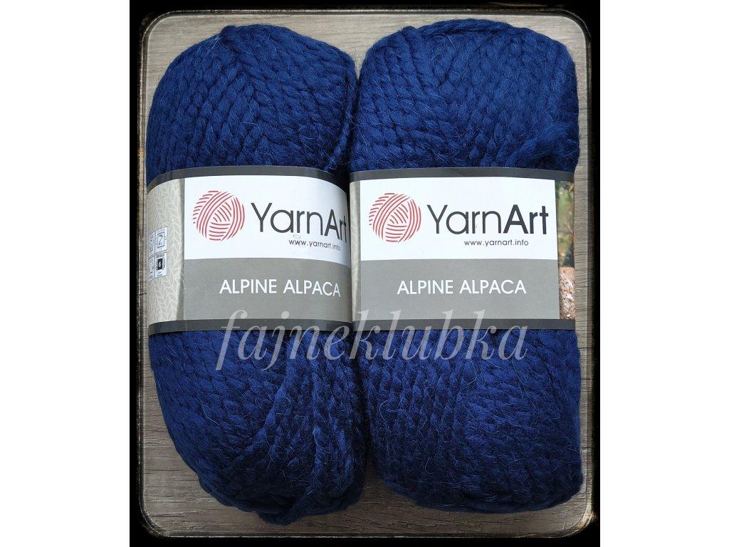 Alpine Alpaca 437 Tmavě modrá