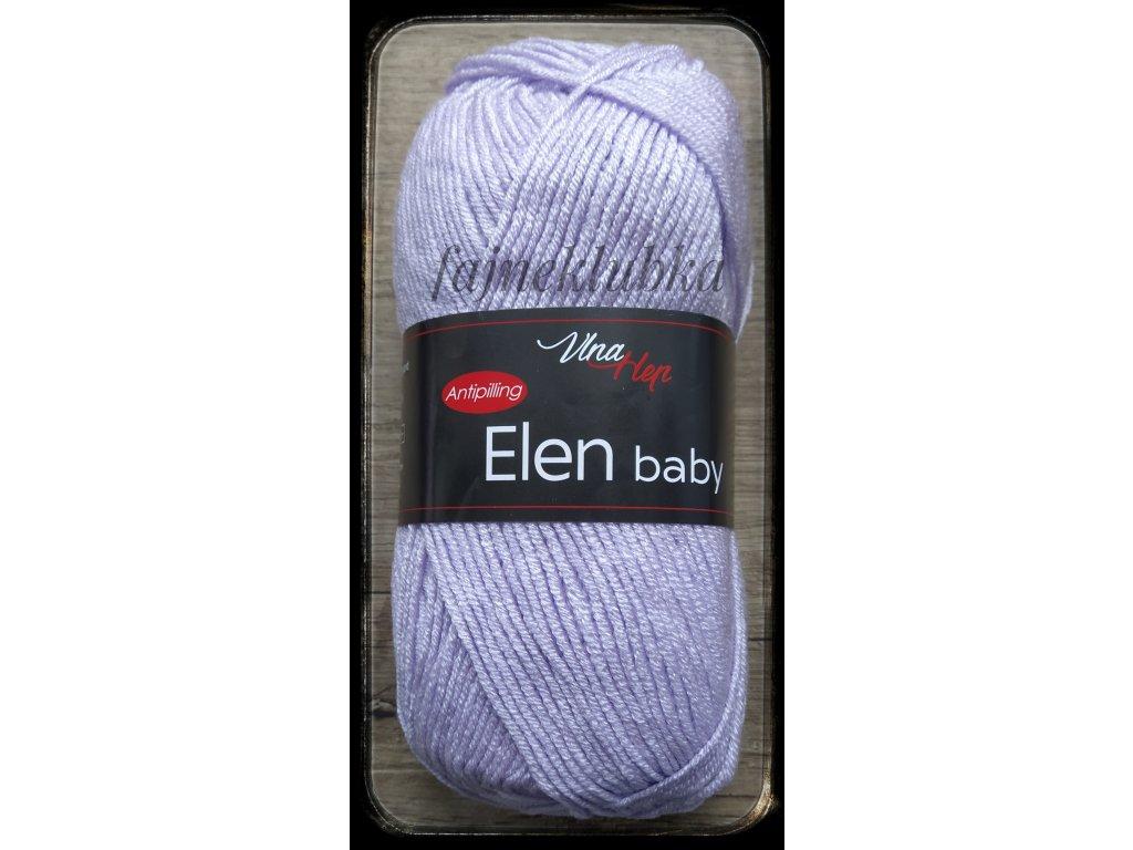 Elen baby 4451 Světle fialová