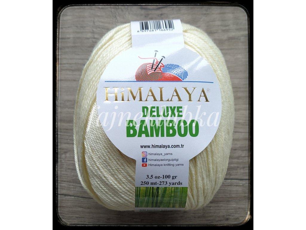 Deluxe Bamboo 03 Vanilková