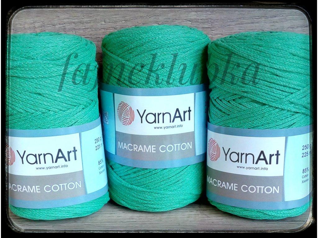 Macrame Cotton 784 Zelená