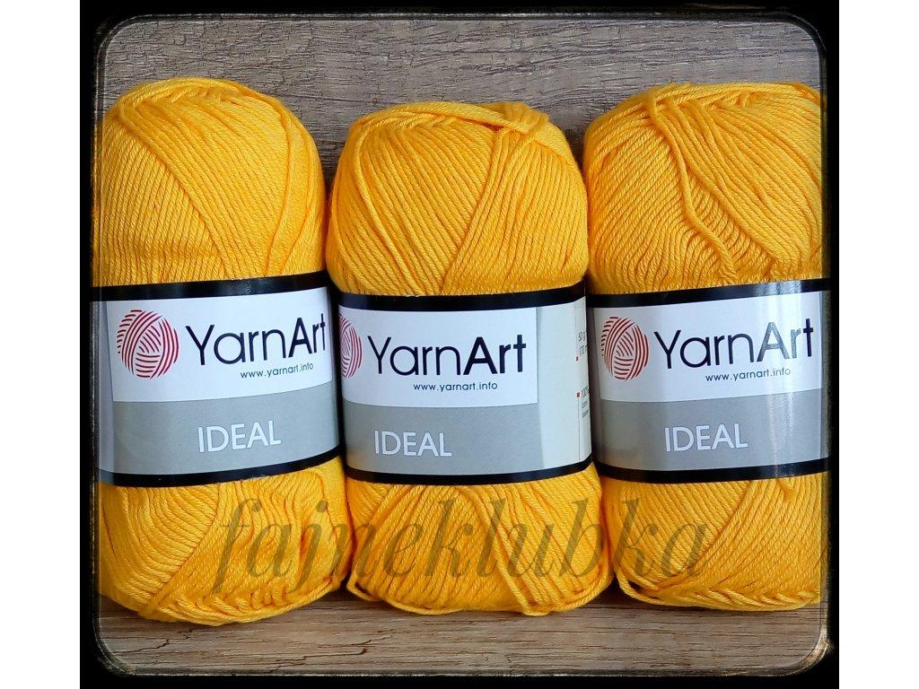 Ideal 228 Tmavě žlutá