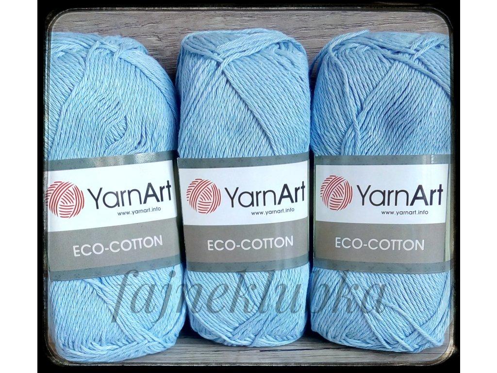 Eco Cotton 770 Světle modrá