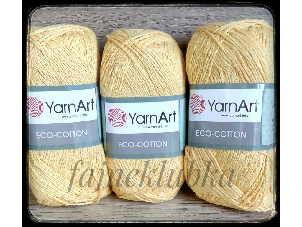 Eco Cotton 764 Žlutá