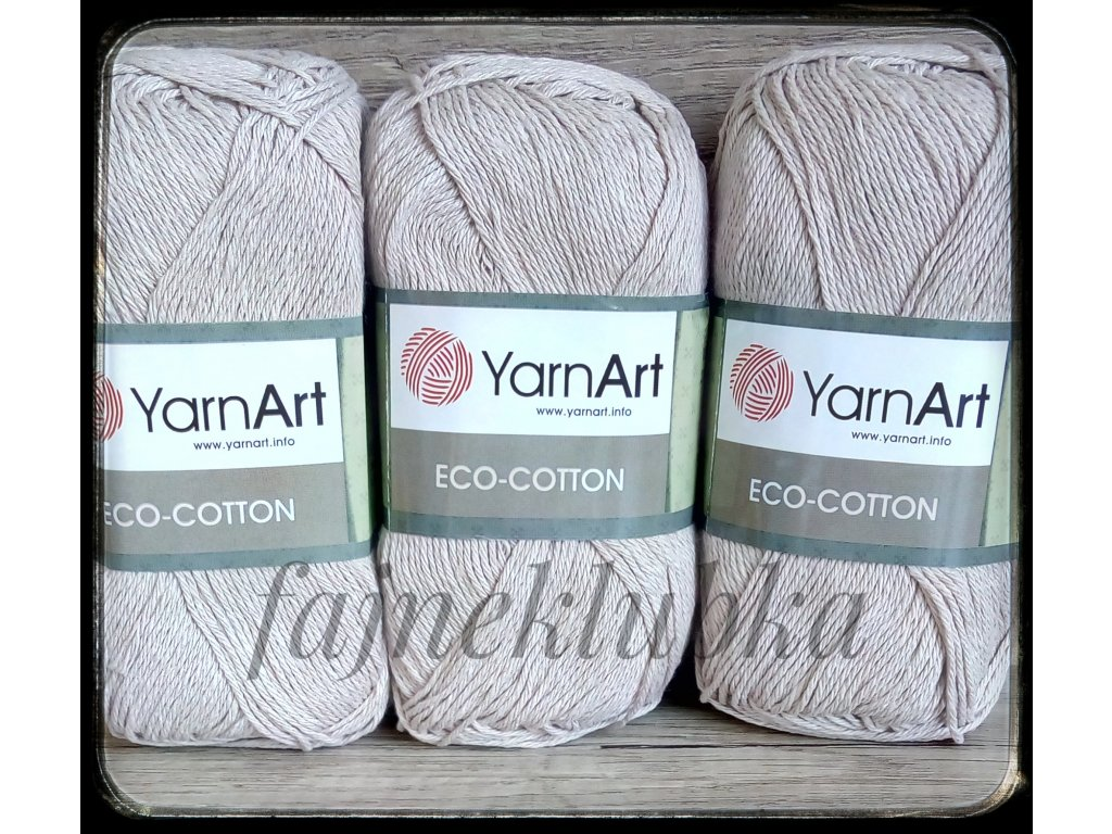 Eco Cotton 768 Béžová